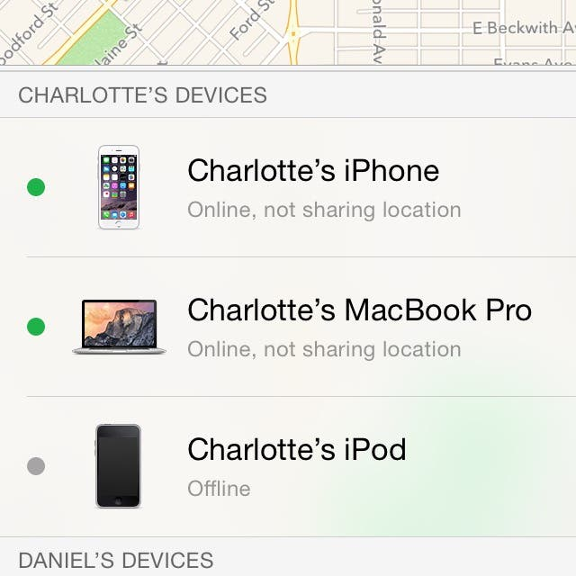 how to get an ipod to forget your icloud account