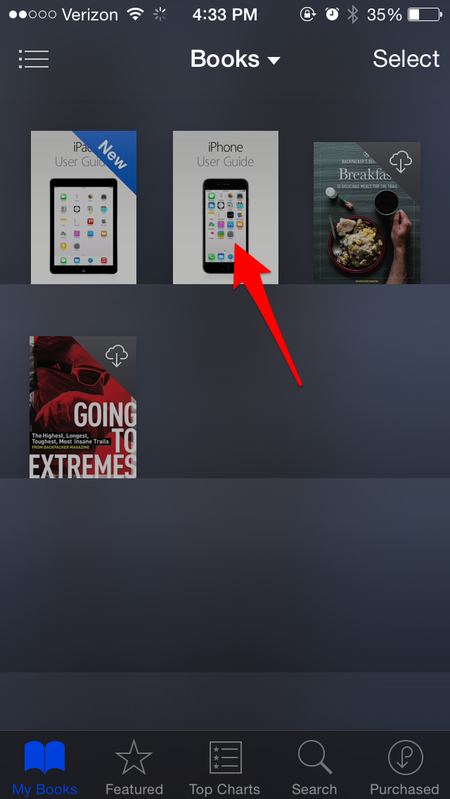 Tip of the Day: Close a Book in iBooks by Pinching the Page