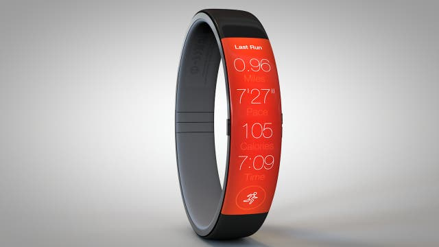 Todd Hamilton's iWatch concept running a fitness app