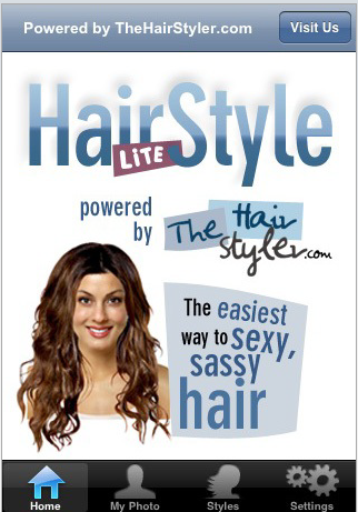A free version, Hairstyle Lite, lets you try 6 different