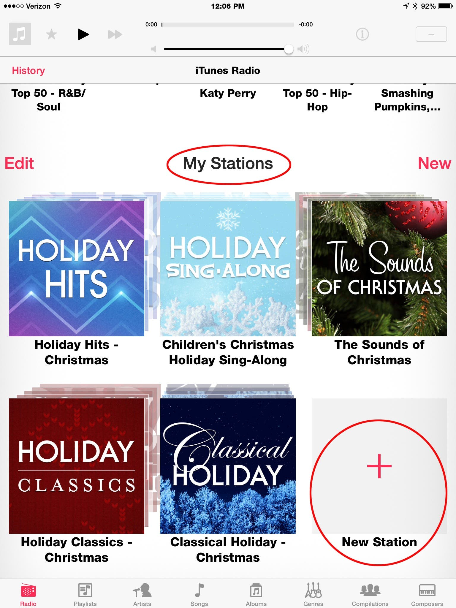 Christmas Music Radio Stations.Tip Of The Day How To Add Christmas Music Stations In