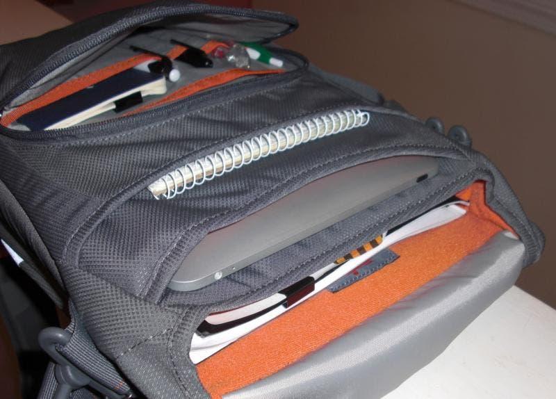 STM's Linear Shoulder Bag Features 7 iOS-Friendly Storage ...