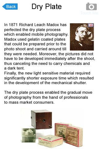 History of Cameras