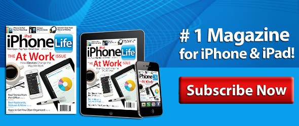 iPhone Life magazine Subscirbe Now