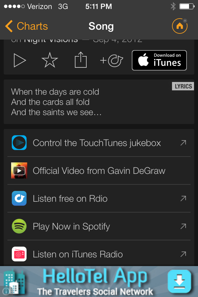 SoundHound and TouchTunes - Convergence of Online and On-Premises