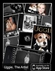 The official Uggie, The Artist App