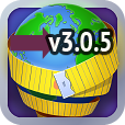 "The ""Measure Your Land"" v3.0.5 – tape measure for planet Earth – is released!"