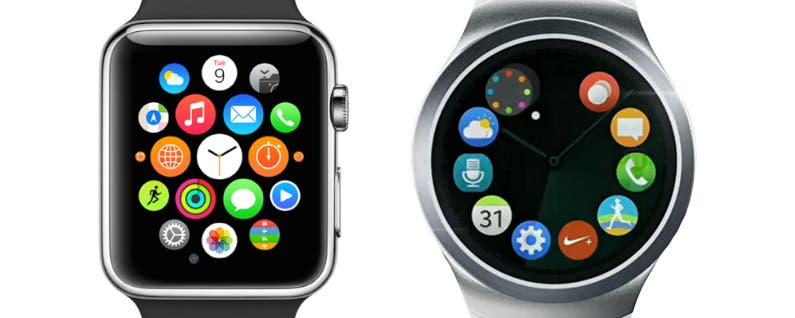 Next Samsung Gear S2 Smartwatch Mimics Apple Watch ...