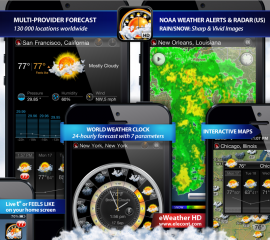eWeather HD adds new features including iPhone 5 and iOS 6 support