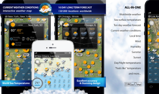 Weather Map HD 1.3 - Plan your journey with new travel weather app