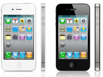 Black and White iPhone
