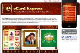 eCard Express for iPhone - Personal and Business Greeting Cards for Everyday Use.