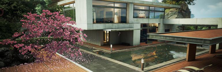 Zen Garden running on iOS 8 Metal